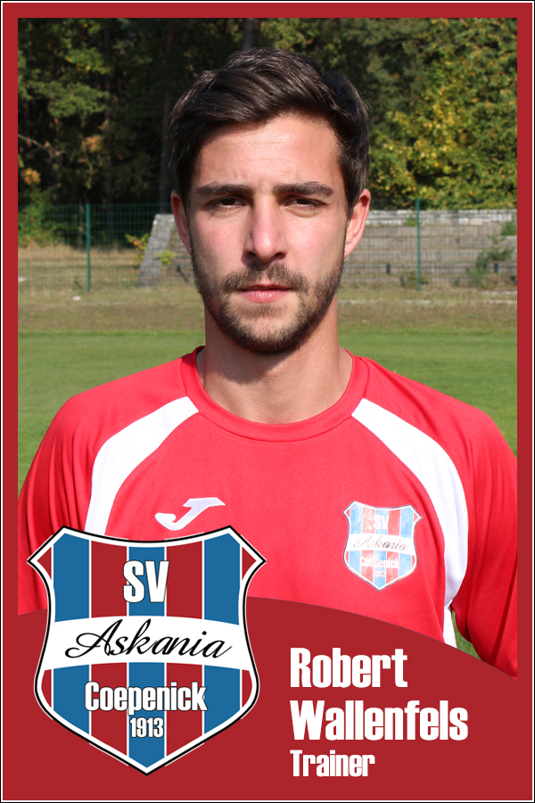 Robert Wallenfels (Trainer 1.A-Junioren 2015/2016)