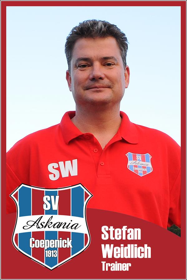 Stefan Weidlich (Trainer 1.E-Junioren 2013/2014)