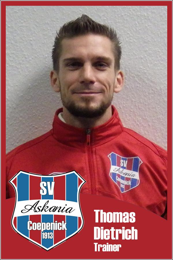 Thomas Dietrich (Betreuer 1.G-Junioren 2012/2013)