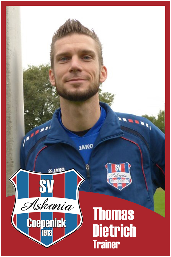 Thomas Dietrich (Teamleiter 1.G-Junioren 2014/2015)