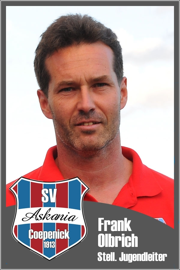 Frank Olbrich (Stell. Jugendleiter)