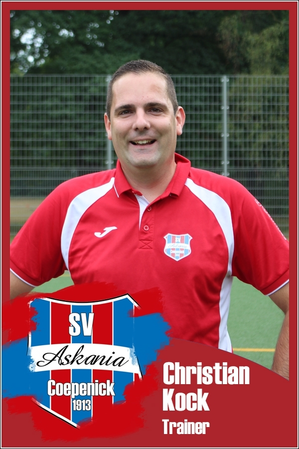 Christian Kock (Trainer 1.Damen 2017/2018)