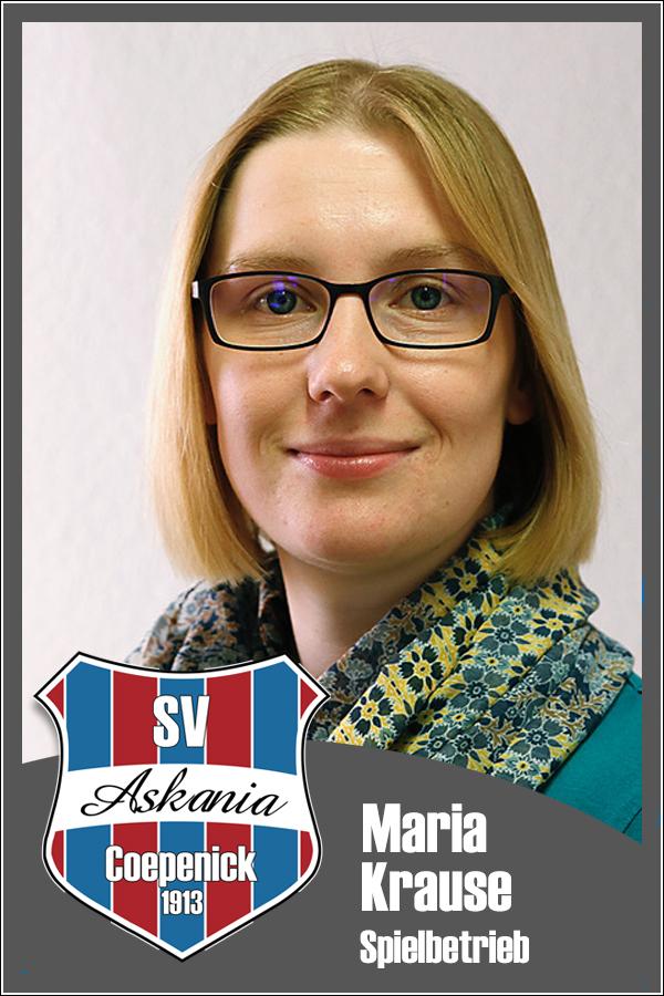 Maria Krause (Spielbetrieb)