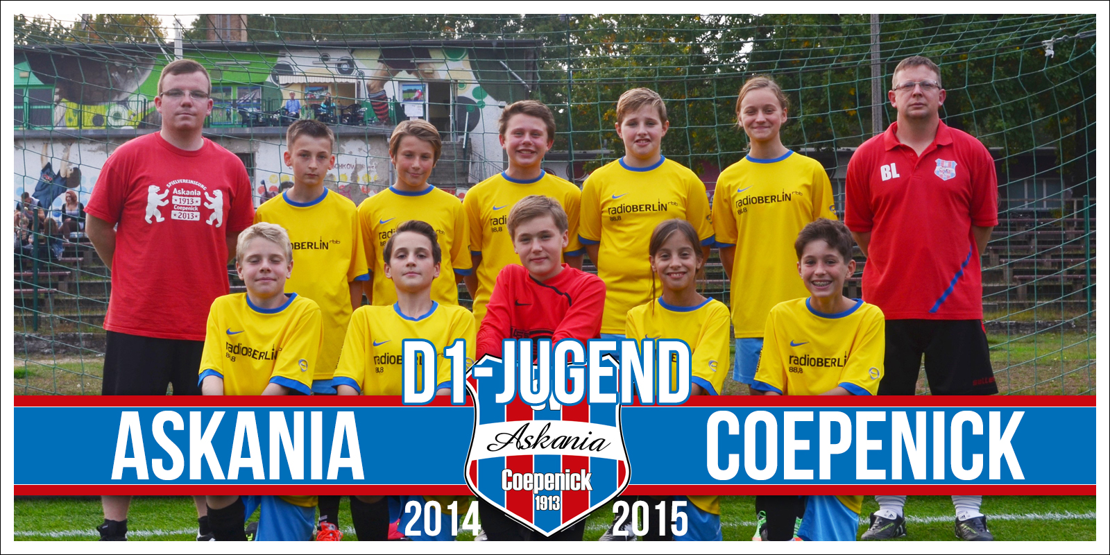 1.D-Junioren Saison 2014/2015