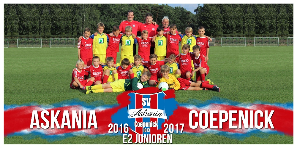 2.E-Junioren Saison 2016/2017