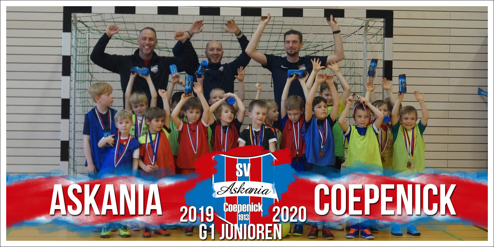 1.G-Junioren Saison 2019/2020