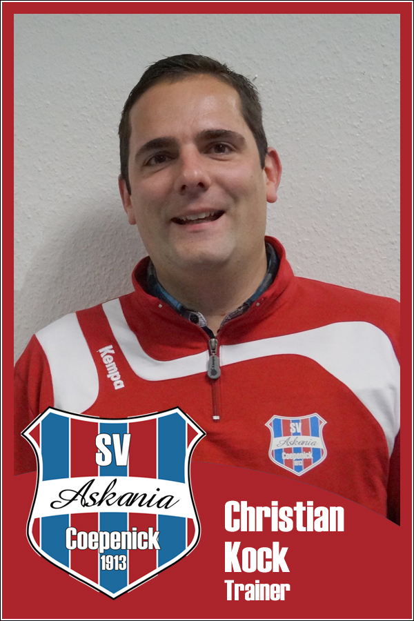 Christian Kock (Trainer 1.Damen 2014/2015)