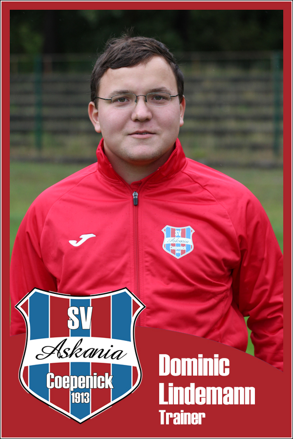 Dominic Lindemann (Trainer 2.F-Junioren 2015/2016)