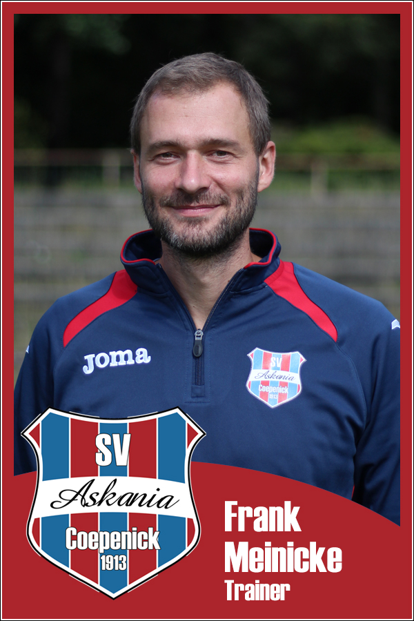 Frank Meinicke (Trainer 1.A-Junioren 2015/2016)