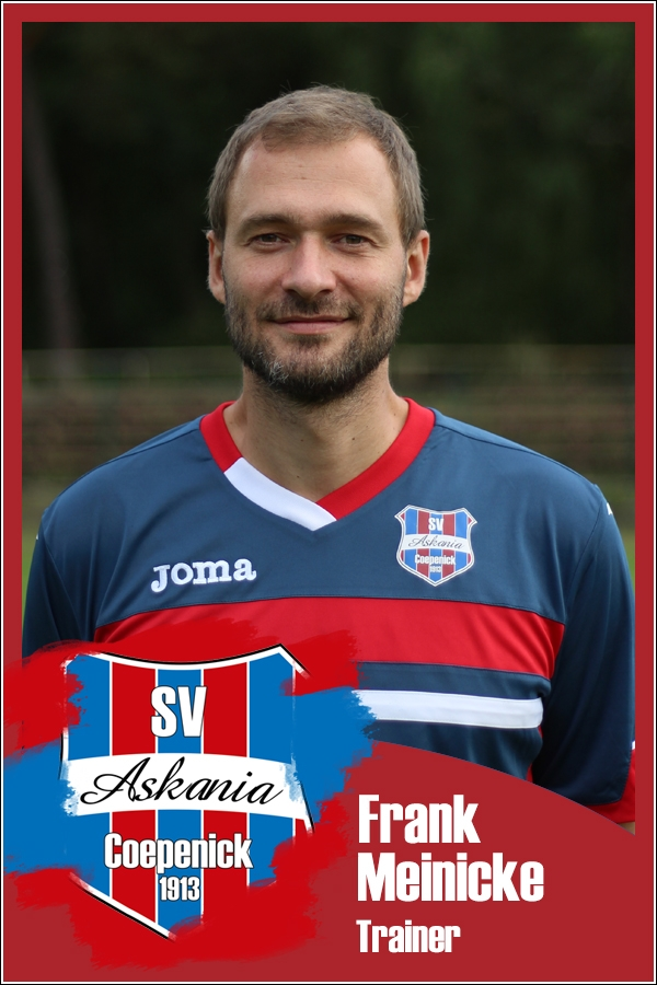 Frank Meinicke (Trainer 1.C-Junioren 2016/2017)