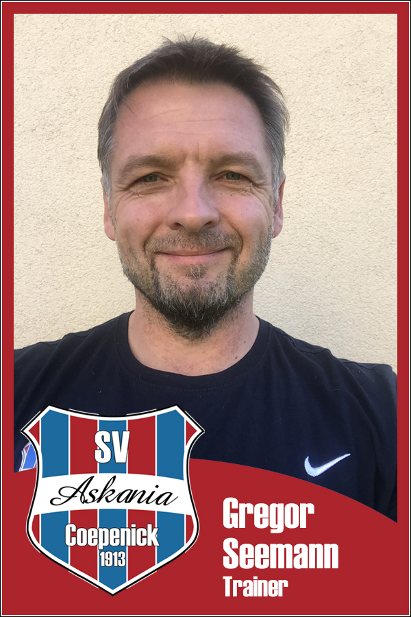 Gregor Seemann (Trainer 2.F-Junioren 2015/2016)
