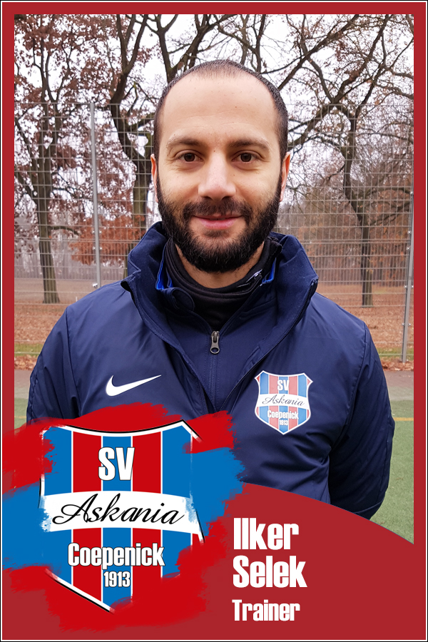 Ilker Selek (Trainer 1.E-Junioren 2018/2019)