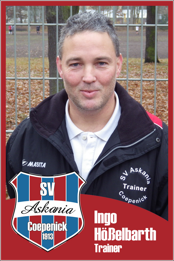 Ingo Hößelbarth (Trainer 1.C-Junioren 2013/2014)
