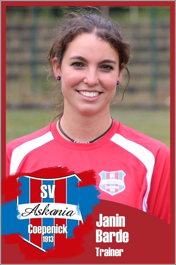 Janin Barde (Trainerin 1.G-Junioren 2016/2017)