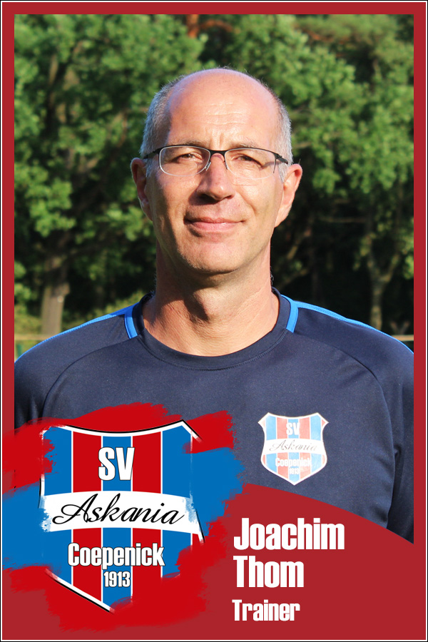 Joachim Thom (Trainer 1.C-Junioren 2019/2020)