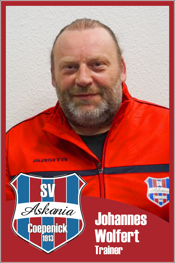 Johannes Wolfert (Co-Trainer 1.E-Junioren 2014/2015)