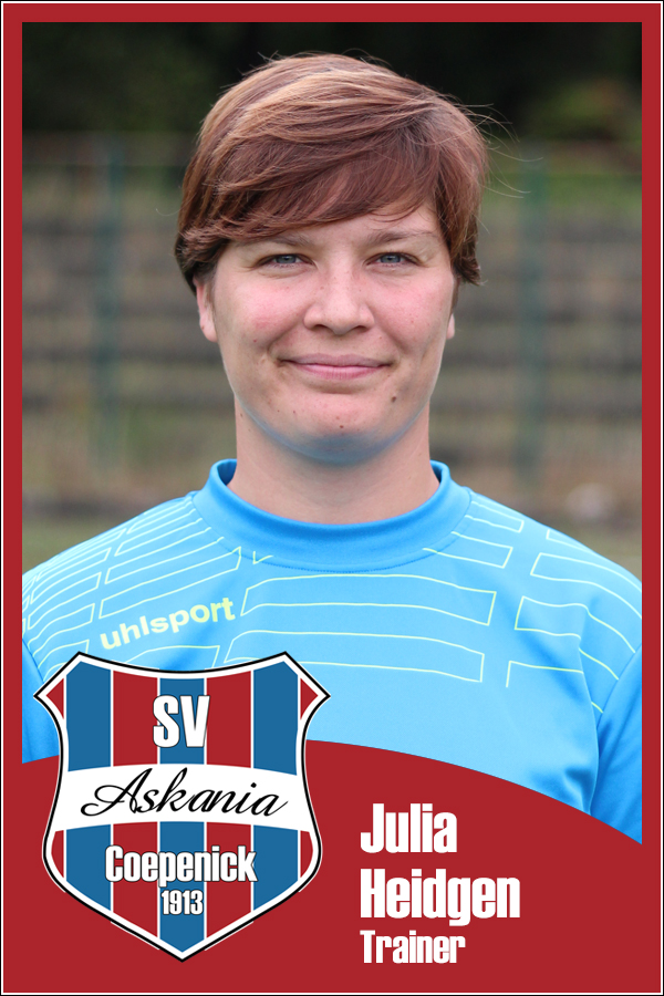 Julia Heidgen (Trainerin 1.F-Junioren 2013/2014)