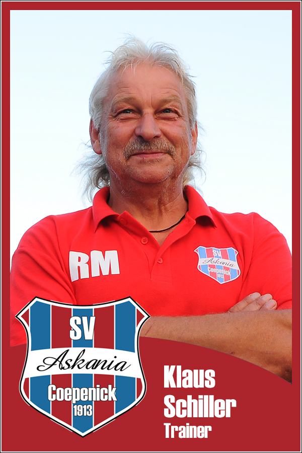 Klaus Schiller (Trainer 1.E-Junioren 2013/2014)