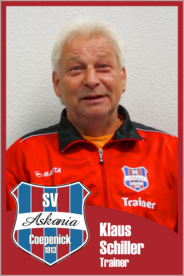 Klaus Schiller (Trainer 2.D-Junioren 2014/2015)