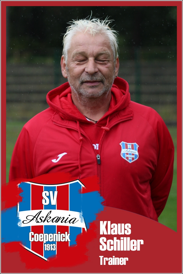 Klaus Schiller (Trainer 1.E-Junioren 2017/2018)