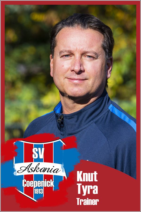 Knut Tyra (Trainer 1.F-Junioren 2019/2020)