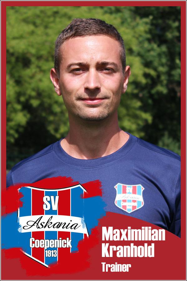 Maximilian Kranhold (Trainer 2.F-Junioren 2021/2022)