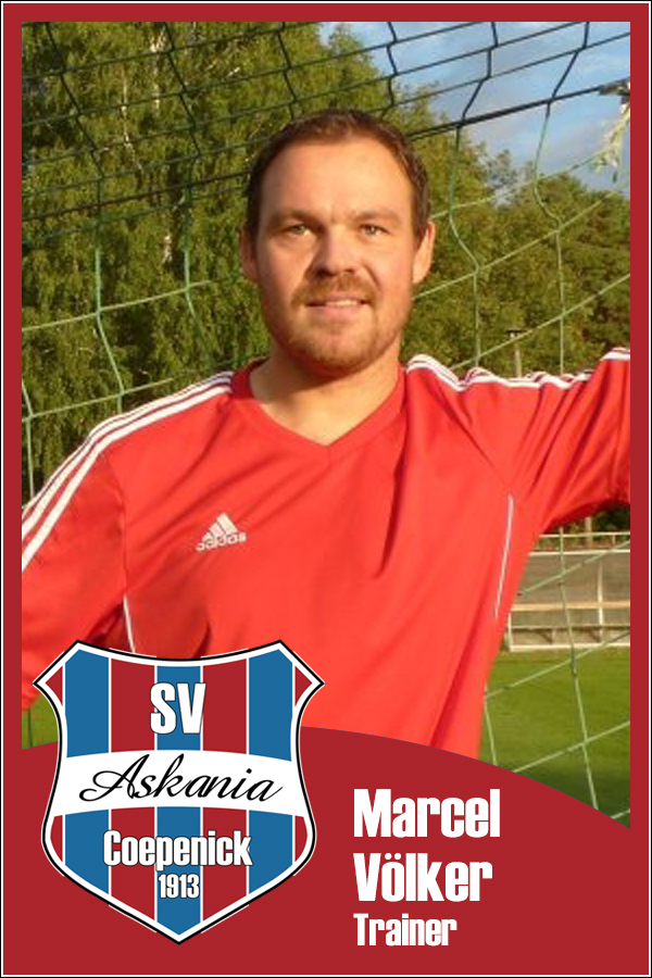 Marcel Völker (Trainer 1.D-Junioren 2013/2014)