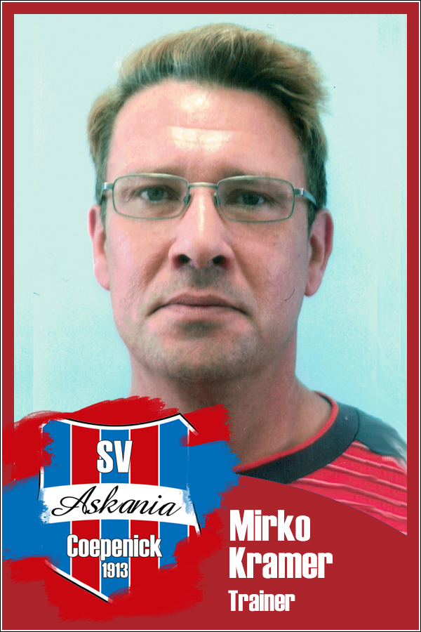 Mirko Kramer (Trainer 1.E-Junioren 2019/2020)