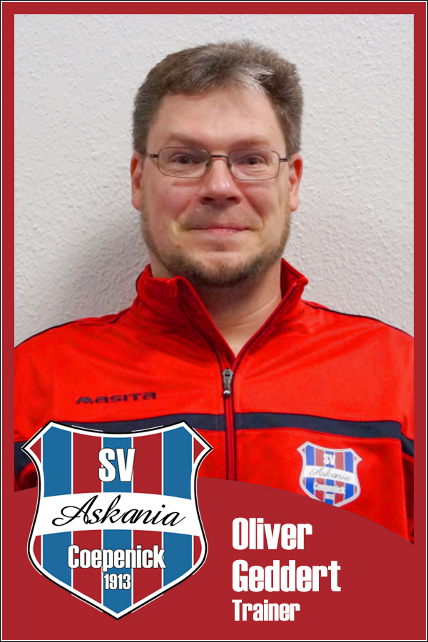 Oliver Geddert (Co-Trainer 1.E-Junioren 2014/2015)