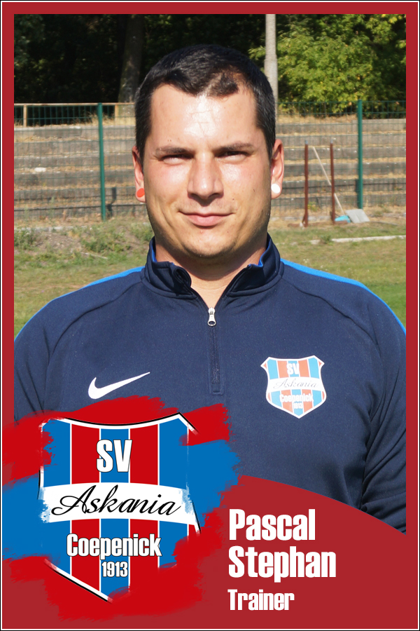 Pascal Stephan (Trainer 1.G-Junioren 2018/2019)