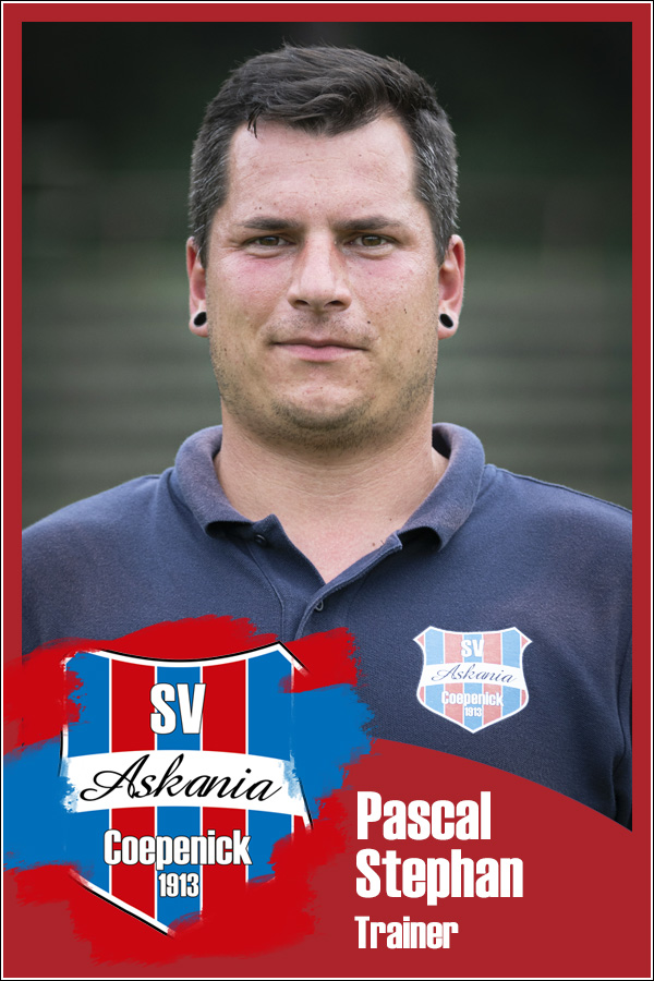 Pascal Stephan (Trainer 2.F-Junioren 2019/2020)
