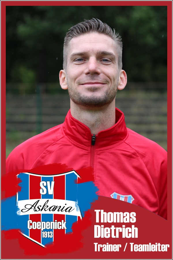 Thomas Dietrich (Trainer und Teamleiter 1.G-Junioren 2018/2019)