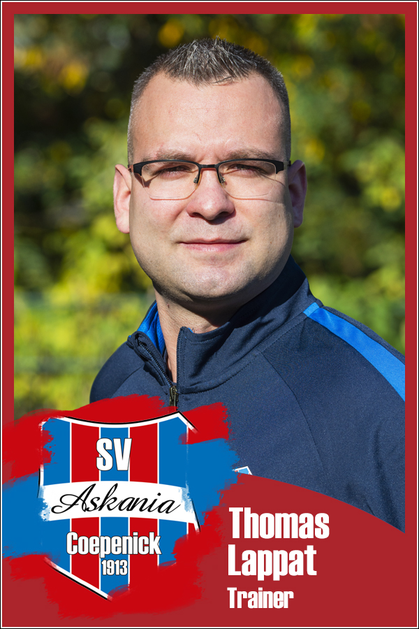 Thomas Lappat (Trainer 1.F-Junioren 2019/2020)