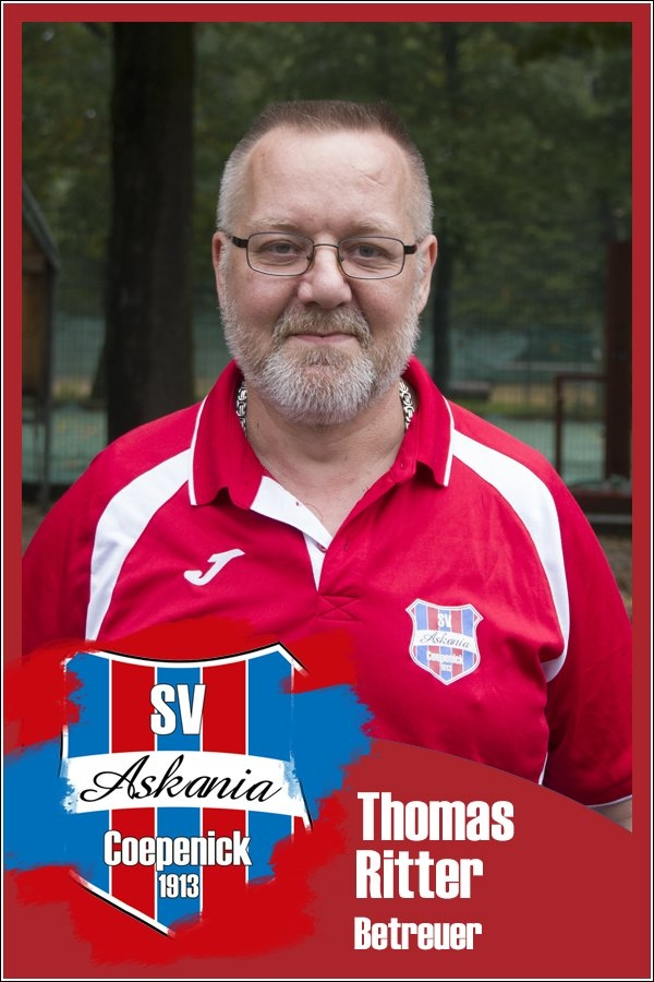Thomas Ritter (Betreuer 1.C-Junioren 2017/2018)